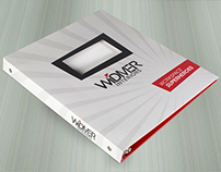 Interior Design 3-Ring Branding Binder w/ Window