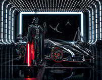 Lamborghini Advertising - Darth Vader