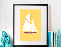 Yacht Illustrations
