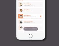 Recruiter app (concept)