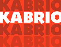 Kabrio free typeface family - 56 weights free download