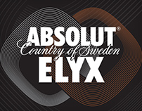 Absolut Elyx Press Kit Box