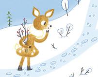 Christmas page for Histoires pour les petits