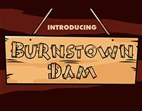 Free Font: Burnstown Dam