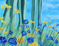 Spring Garden painting