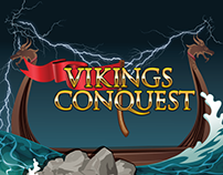 Viking Conquest - Vector Slot Game