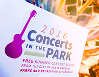 Concerts in the Park 2016 Branding and Marketing