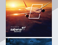 SABENA Campaign - VIP Air plan Services