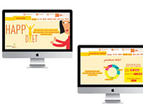 HAPPY DIET social campaign - assignment