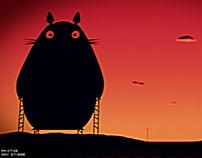 Totoro de Osborne / 90s Loop