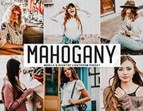 Free Mahogany Mobile & Desktop Lightroom Preset
