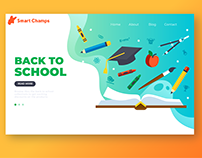 Kids School Landing Page