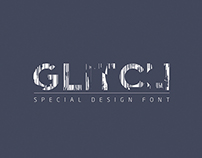 Glitch Font / typography / lettering design  Grafist 19