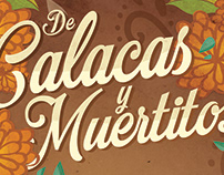 Calacas y muertitos · Poster design