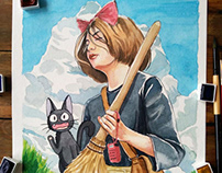 OCTAVIA AS KIKI'S DELIVERY SERVICE
