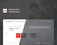 Responsive web-site for business group