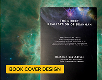 Book Cover Design: The Direct Realization of Brahman
