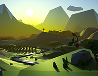 Low Poly Landscapes