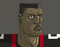 NFL: Character Design Explorations 2017