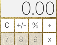 Day 4 UI Design Challenge: Calculator