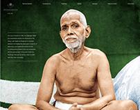 Home Page for Ramanashram, Tiruvannamalai