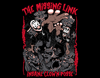 Insane Clown Posse Dark Pit Tee design