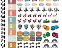 Sticker Sheet | ECDA