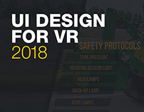 VR game UI design
