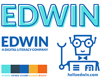Edwin Logo & Mascot