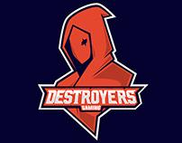 DESTROYERS GAMING(mascot logo)