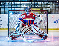 TEMPISH POLONIA BYTOM - HOCKEY PLAYER