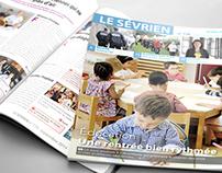 Le Sévrien - Maquette 2014