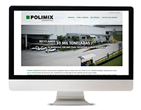 Website Polimix Ambiental