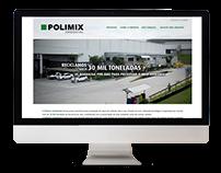 Website Polimix Ambiental