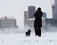 A Chicago Winter Storm