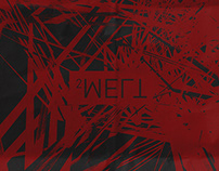 MELT2 - Record graphics and packaging