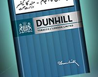 Dunhill cigarette Story Board