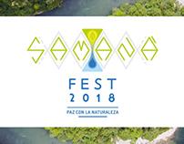 Evento Samaná Fest 2018 (poster + web)
