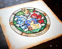 Zenkert Coat of Arms