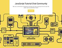 JavaScript Tutorial Chat Community