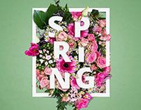 Spring Poster Art
