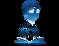 Harry Potter Book series of Illustration