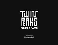 TWIN PEAKS Monograms