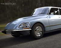 """Citroen DS Dedicated to """"The Mentalist"""""""