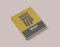 HardCover Book Mockup Set (Free)