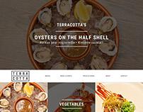 Web UI Mockup - Terracotta