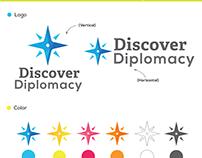 Discover Diplomacy Branding