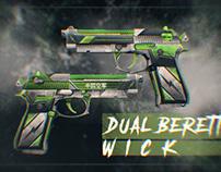 Dual Beretta Wick