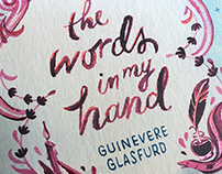 """The Words In My Hand"" Book Cover"