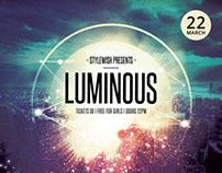 Luminous Flyer Template